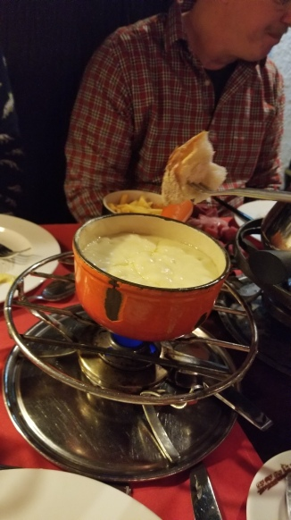 I finished that whole pot of fondu!