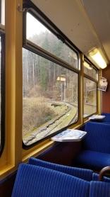 Cogwheel train up the mountain